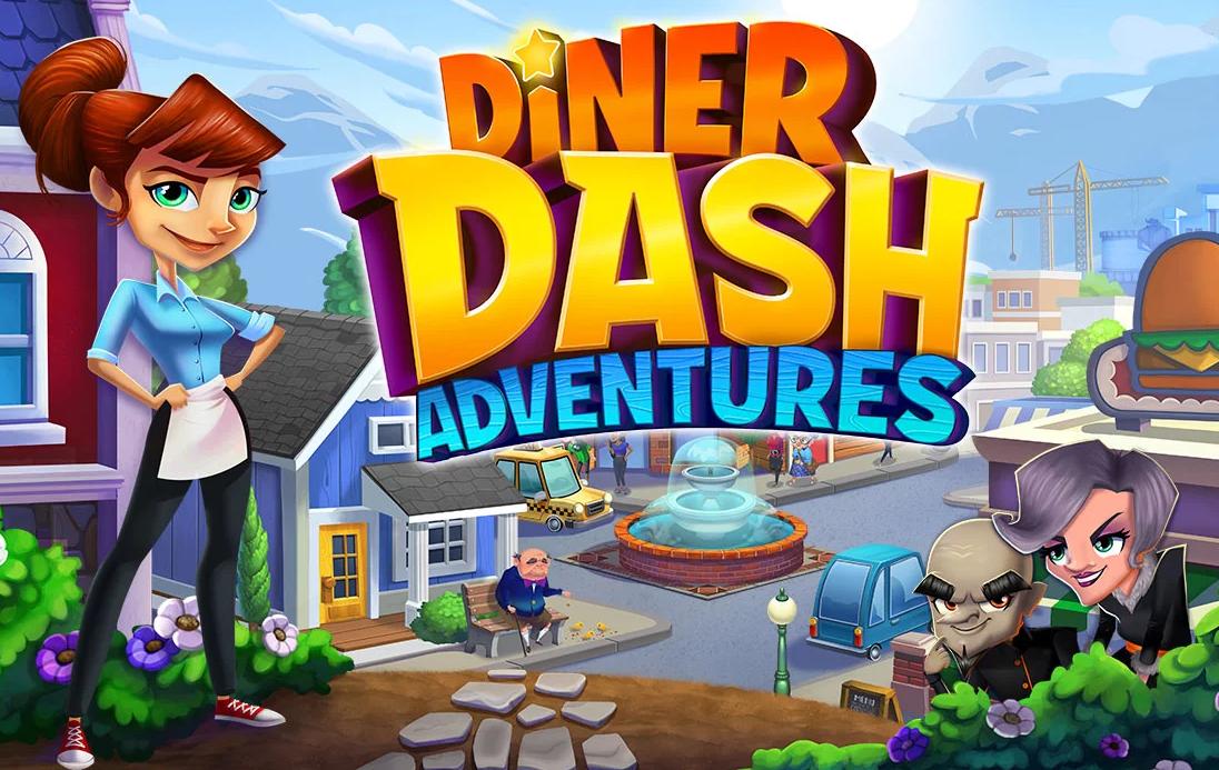 Diner Dash Game Review - Flo Through Time